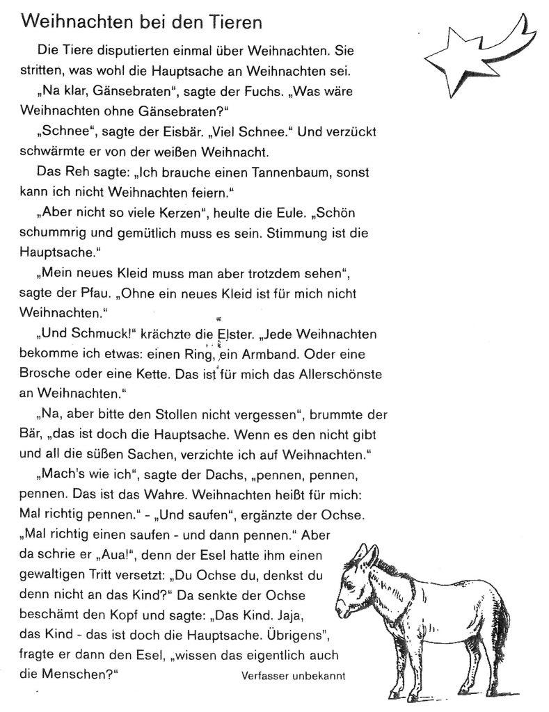 07   Dezember   2018   Grundschule Sandsbach für Wir Sagen Euch An Den Lieben Advent
