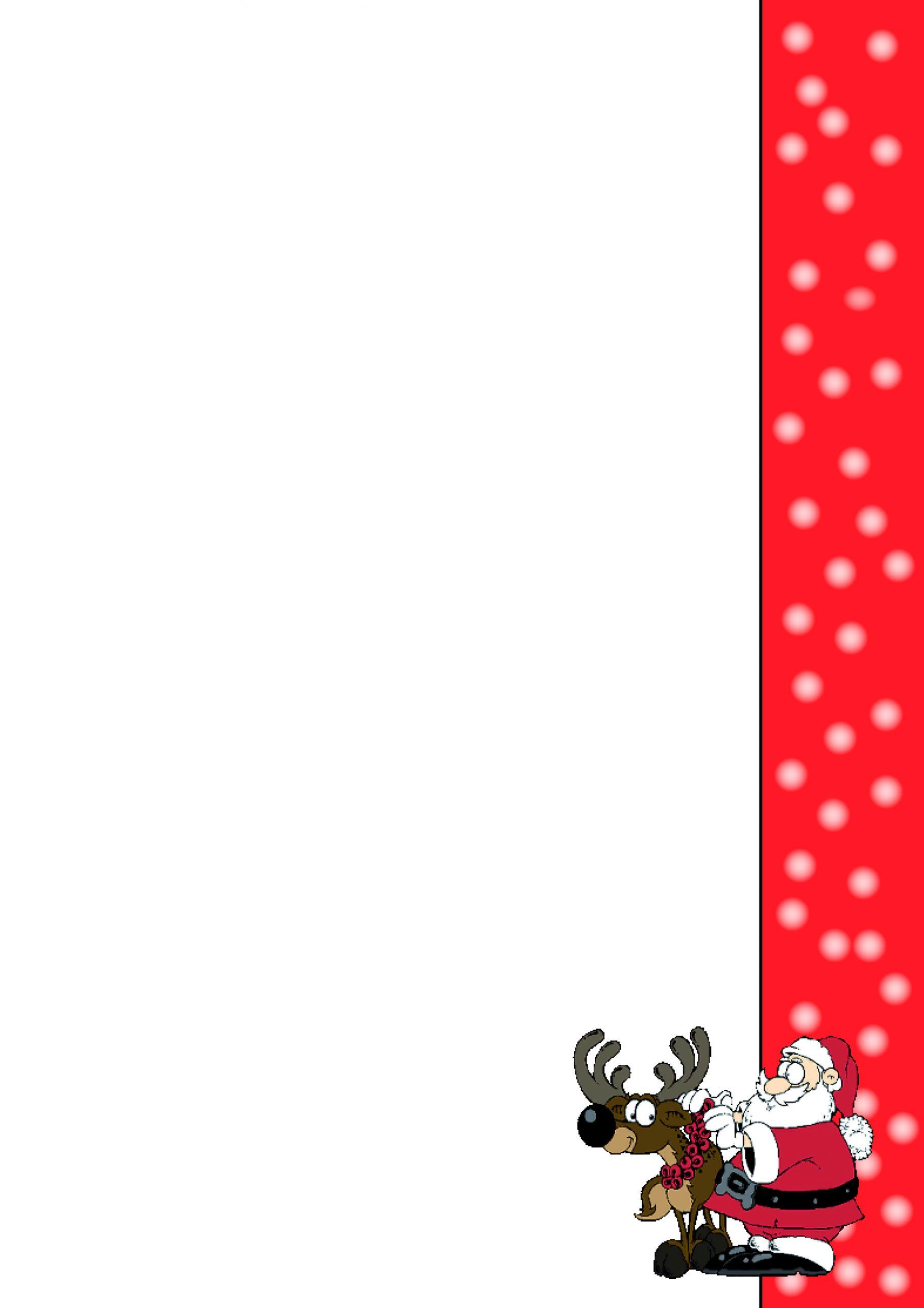 1 Briefpapier - Weihnachten Drucken Lassen Din A4 90 G/m² in Weihnachten Briefpapier