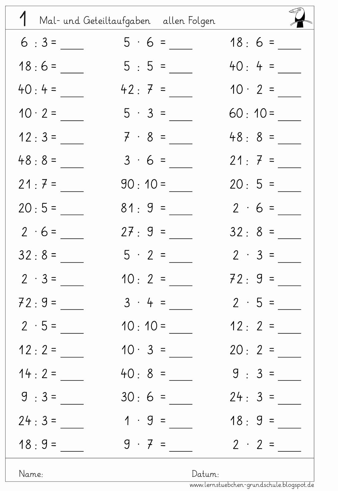 1 Klasse Arbeitsblatter Zum Ausdrucken Einzigartig ganzes Übungsblätter Mathe 1 Klasse Zum Ausdrucken Kostenlos
