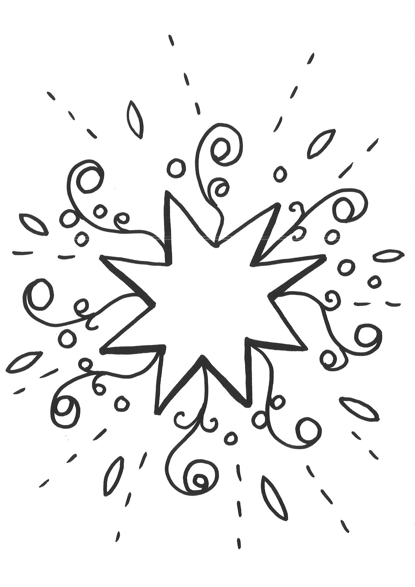 10 Beste Ausmalbilder Stern Kostenlos Zum Ausdrucken mit Malvorlage Stern Groß