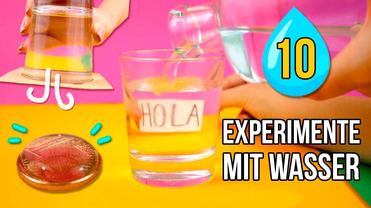 10 Erstaunlichen Experimente Mit Wasser Einfache Experimente Zu Hause Tun! in Experimente Mit Kindern Wasser