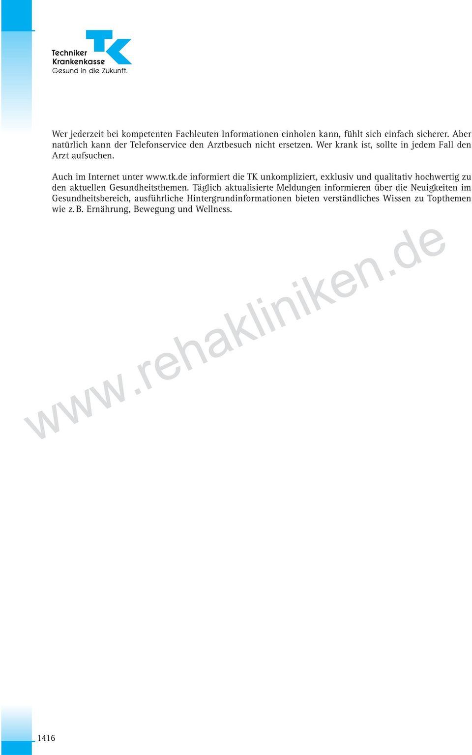 10. Tk Techniker Krankenkasse - Pdf Free Download in Mutter Kind Kur Techniker Krankenkasse