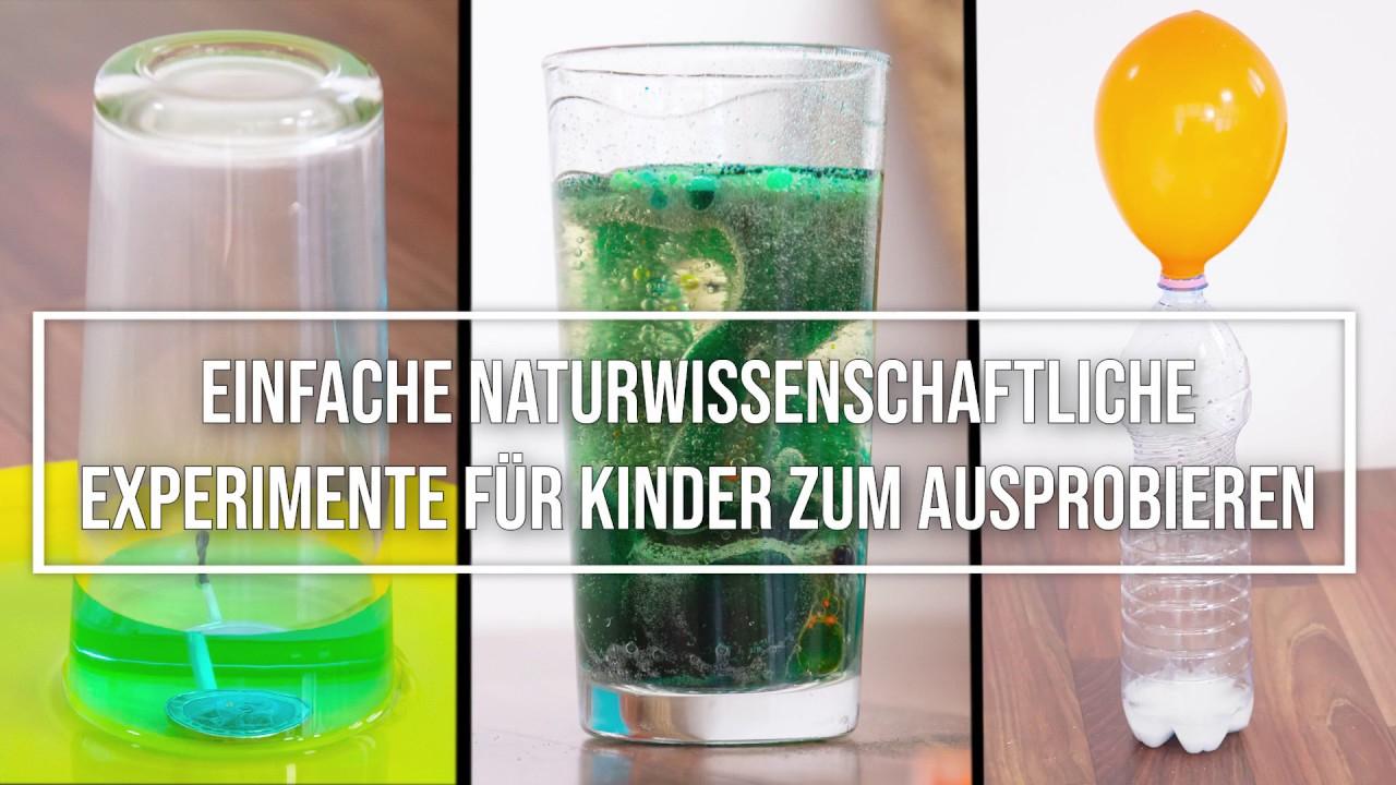 12 Еinfache Experimente Für Kinder Zum Nachmachen verwandt mit Experimente Mit Kindern Wasser