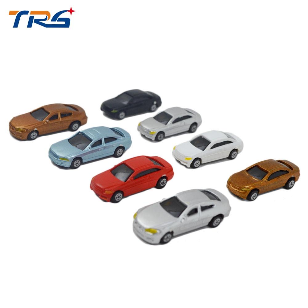 1:200 Skala Modell Auto Gemalt Kit Mini Auto Für Architektur Spielzeug Sand  Tabelle Diorama Landschaft Zug Gebäude Layout Kunststoff mit Auto Gemalt