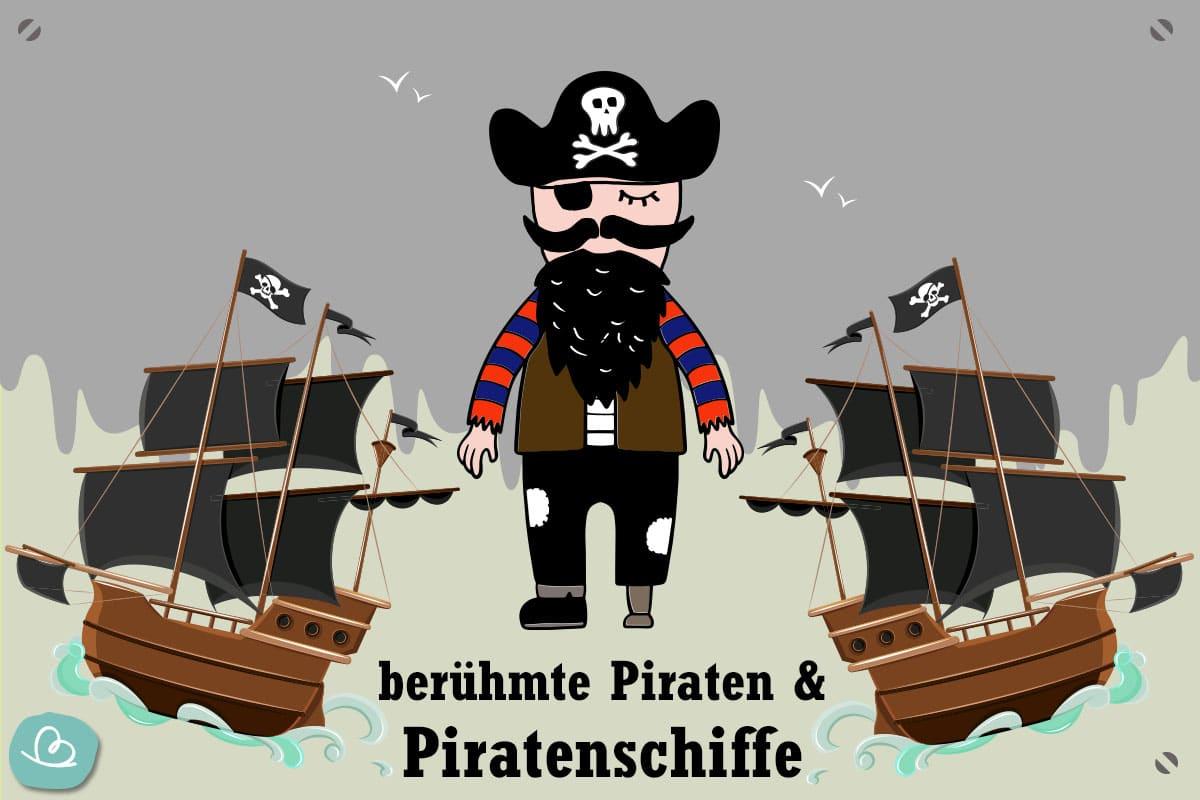 15 Berühmte Piraten & Piratenschiffe   Aye, Aye, Käpt'n innen Jack Und Die Nimmerland Piraten Schiff