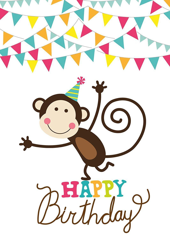 15 Geburtstagskarten Für Kinder, 5 Motive Mit Jeweils 3 innen Geburtstagskarten Kindergeburtstag