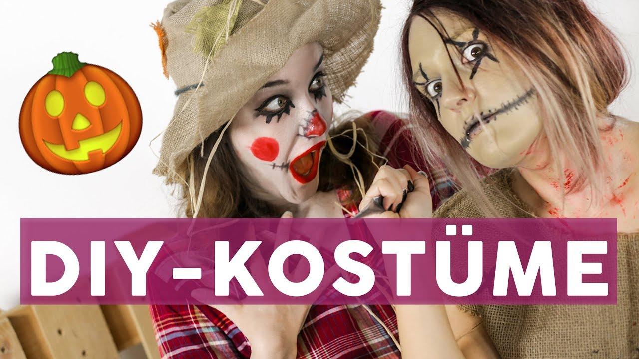 15 Gruselige Last Minute Halloween-Kostüme 👻   Diy bei Halloween Kostüm Selber Machen Günstig
