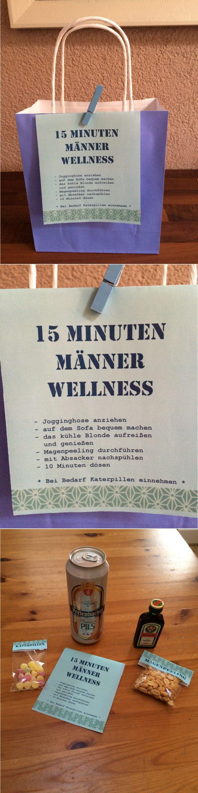 15 Minuten Männer Wellness!!! Geschenkidee Für Den Mann in Weihnachtsgeschenke Für Einen Mann