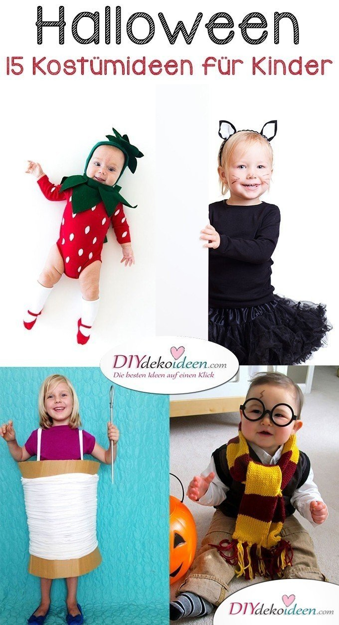 15 Witzige Halloween Kostüm Ideen Für Kinder Zum Selbermachen verwandt mit Halloween Kostüme Selber Machen Kinder