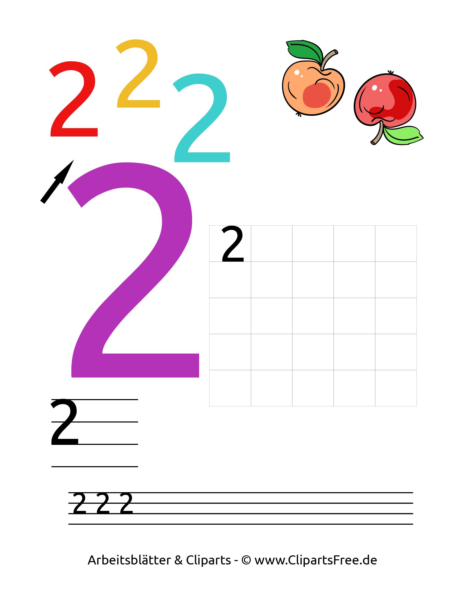 2 - Kostenlose Arbeitsblätter Für Die Vorschule mit Vorschule Arbeitsblätter Kostenlos