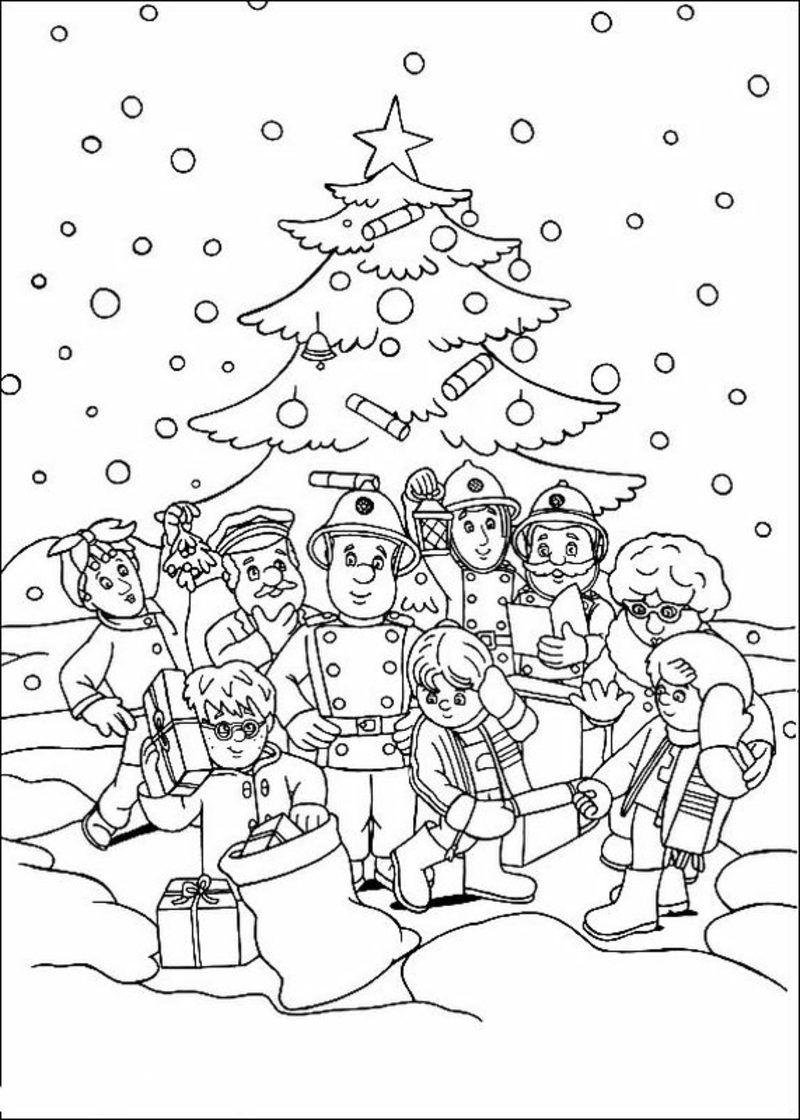 20 Ausmalbilder Zu Weihnachten: Erfreuen Sie Ihre Kinder Für bei Weihnachten Ausmalbilder