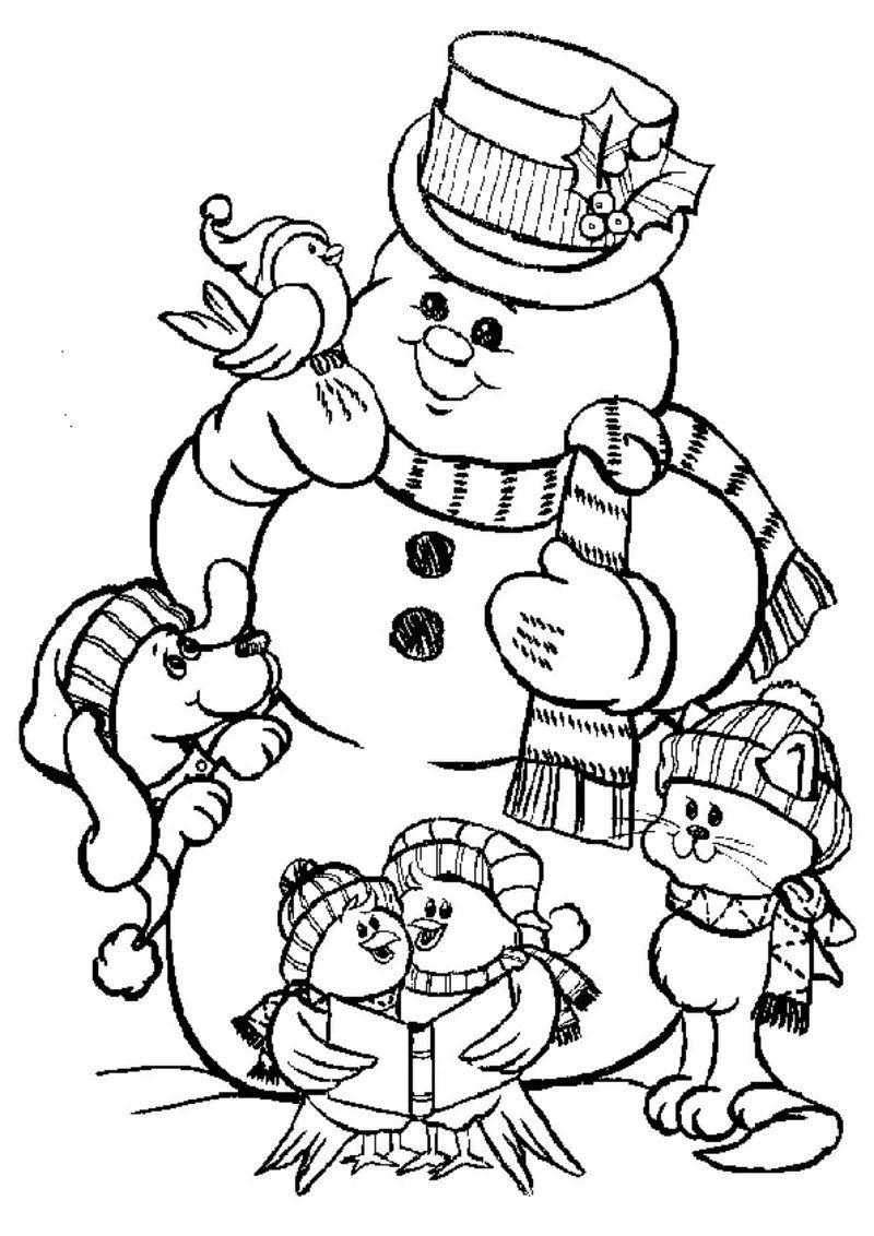 20 Ausmalbilder Zu Weihnachten: Erfreuen Sie Ihre Kinder Für in Ausmalbilder Zu Weihnachten