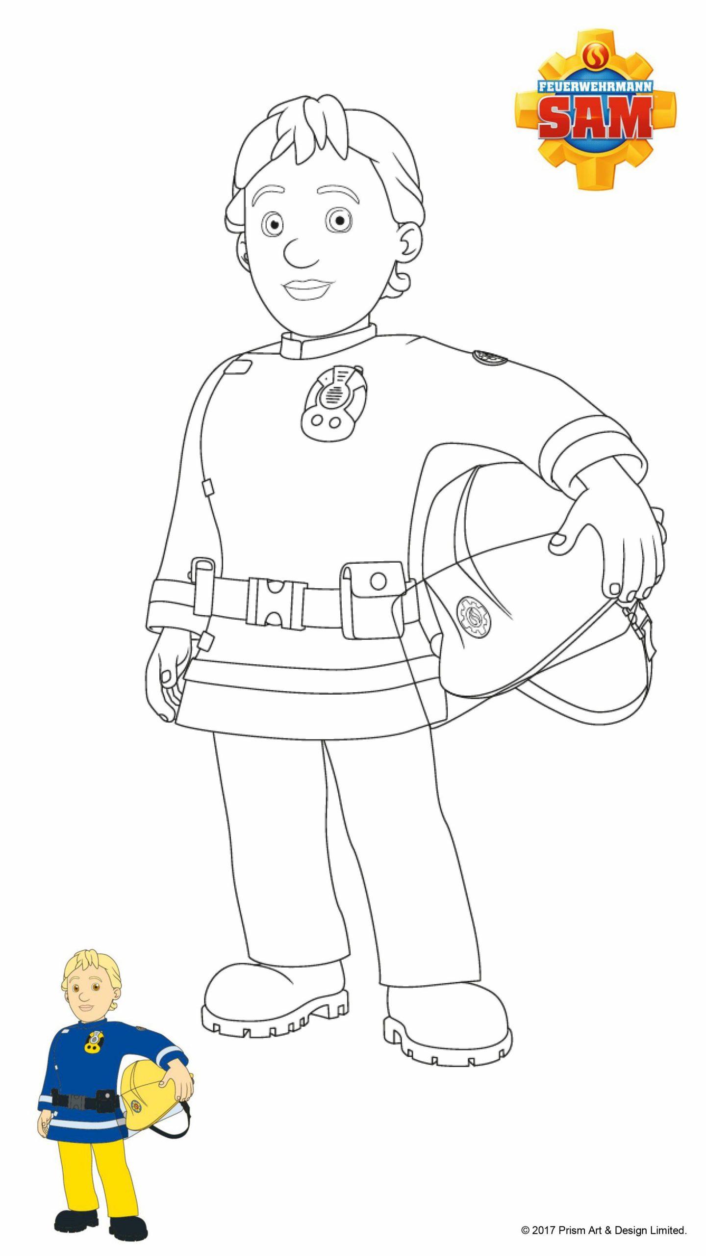 20 Ideen Für Ausmalbilder Sam | Ausmalen, Ausmalbilder für Ausmalbild Feuerwehrmann Sam