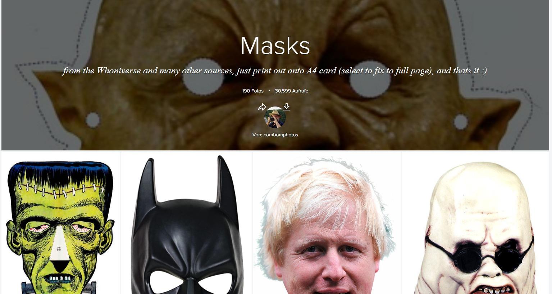200 Masken Zum Drucken Download – Kostenlos – Chip mit Halloween Masken Zum Ausdrucken Kostenlos