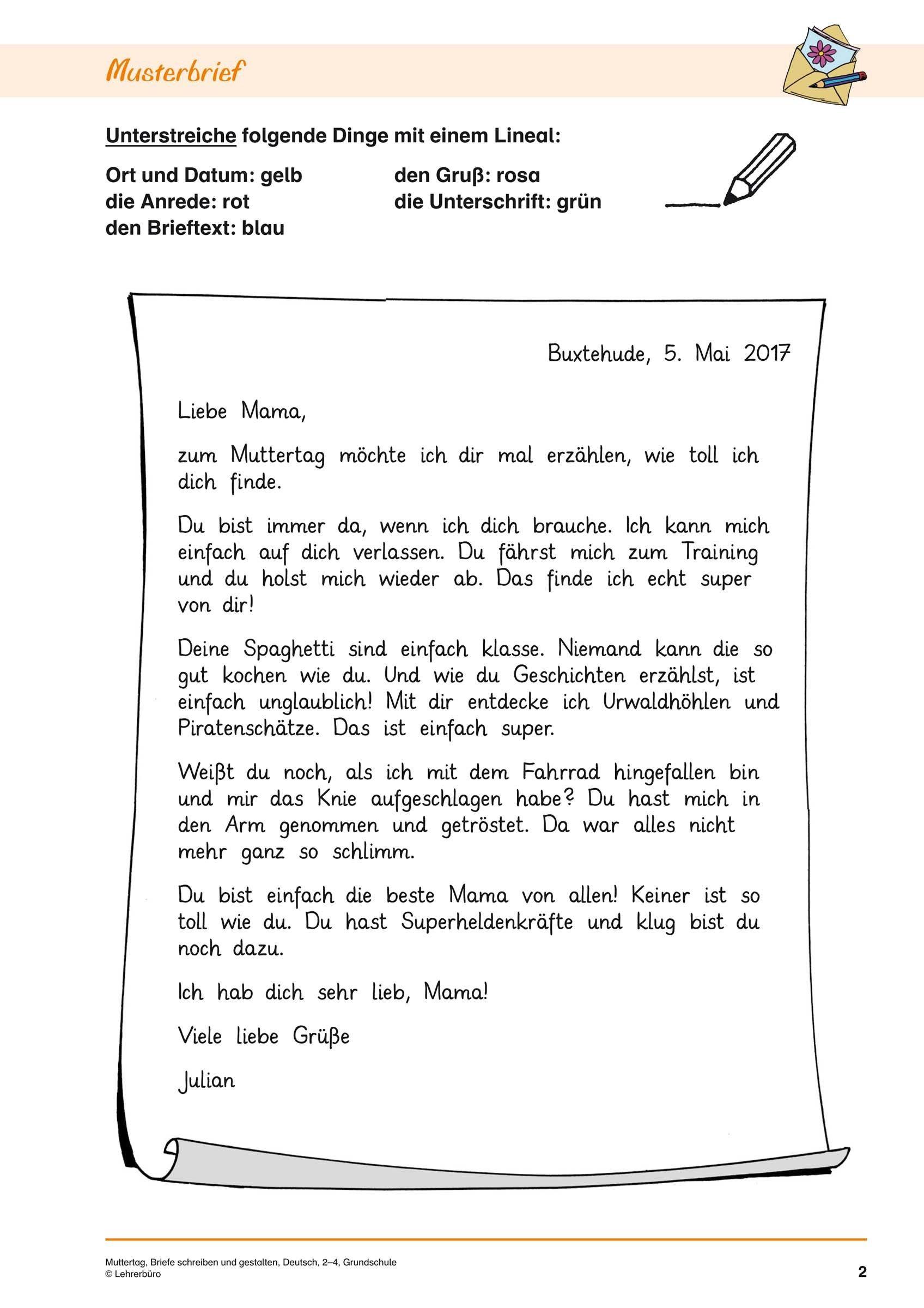 21+ Brief Schreiben 5 Klasse   Freyajacklin   Briefe verwandt mit Texte Verfassen Grundschule 4 Klasse