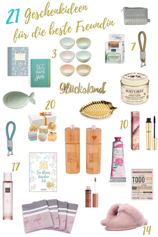 21 Kleine 🎁 Geschenke Für Die Beste Freundin - Kreativezeit über Geschenk Für Beste Freundin 15