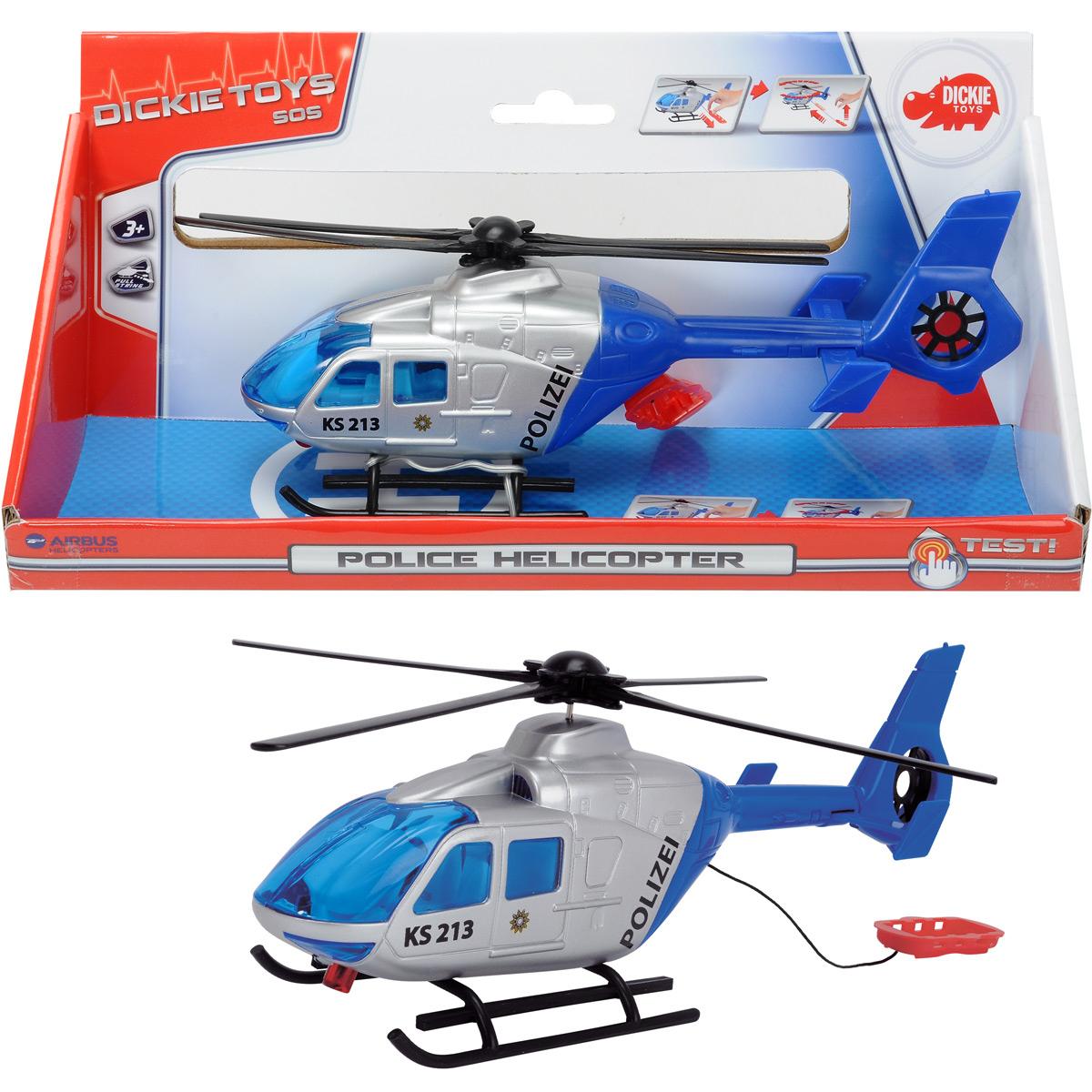 24Cm Hubschrauber Mit Funktion Polizei Dickie Helikopter bestimmt für Hubschrauber Für Kinder