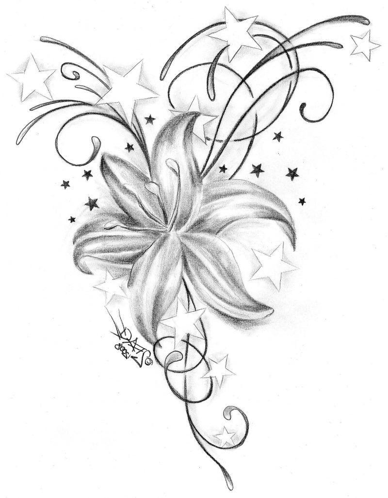 25 Erstaunliche Tattoovorlagen Kostenlos Zum Ausdrucken ganzes Sterne Tattoo Vorlagen Kostenlos