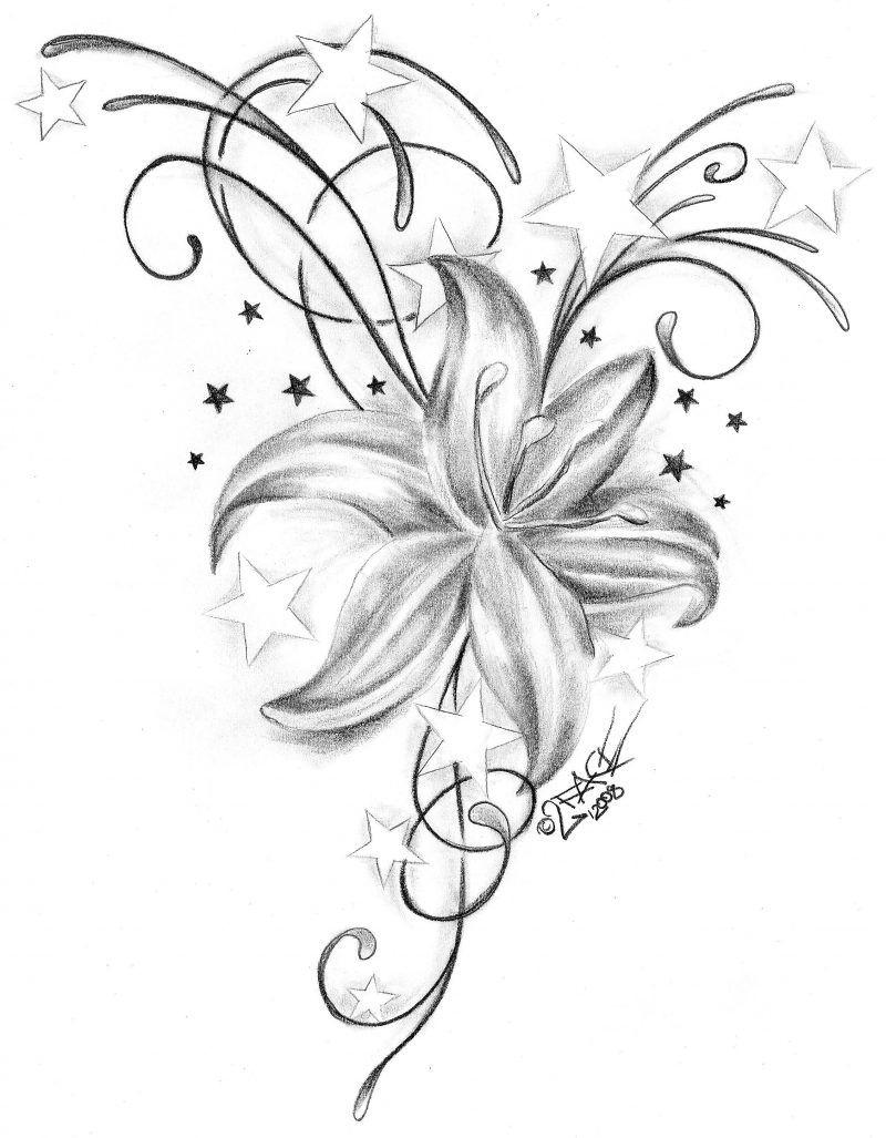 25 Erstaunliche Tattoovorlagen Kostenlos Zum Ausdrucken (Mit innen Sterne Tattoo Vorlagen Kostenlos