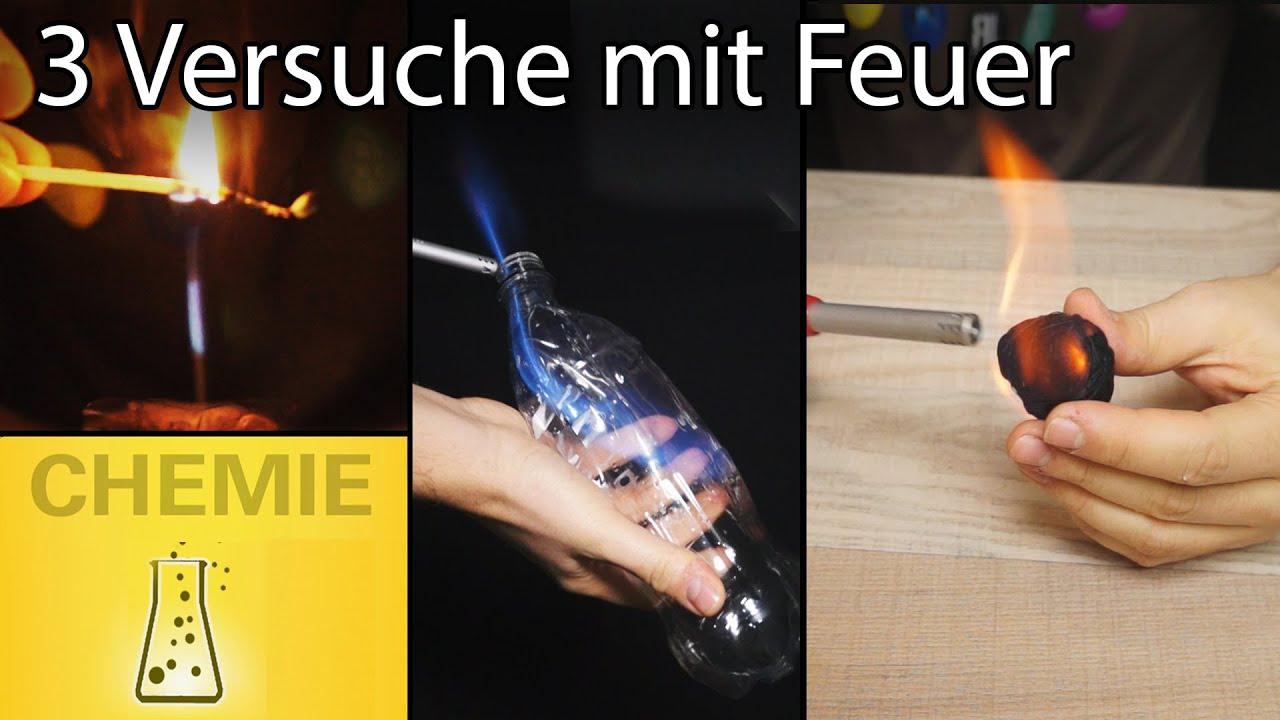 3 Amazing Experiments With Fire! mit Experimente Mit Feuer Zum Nachmachen