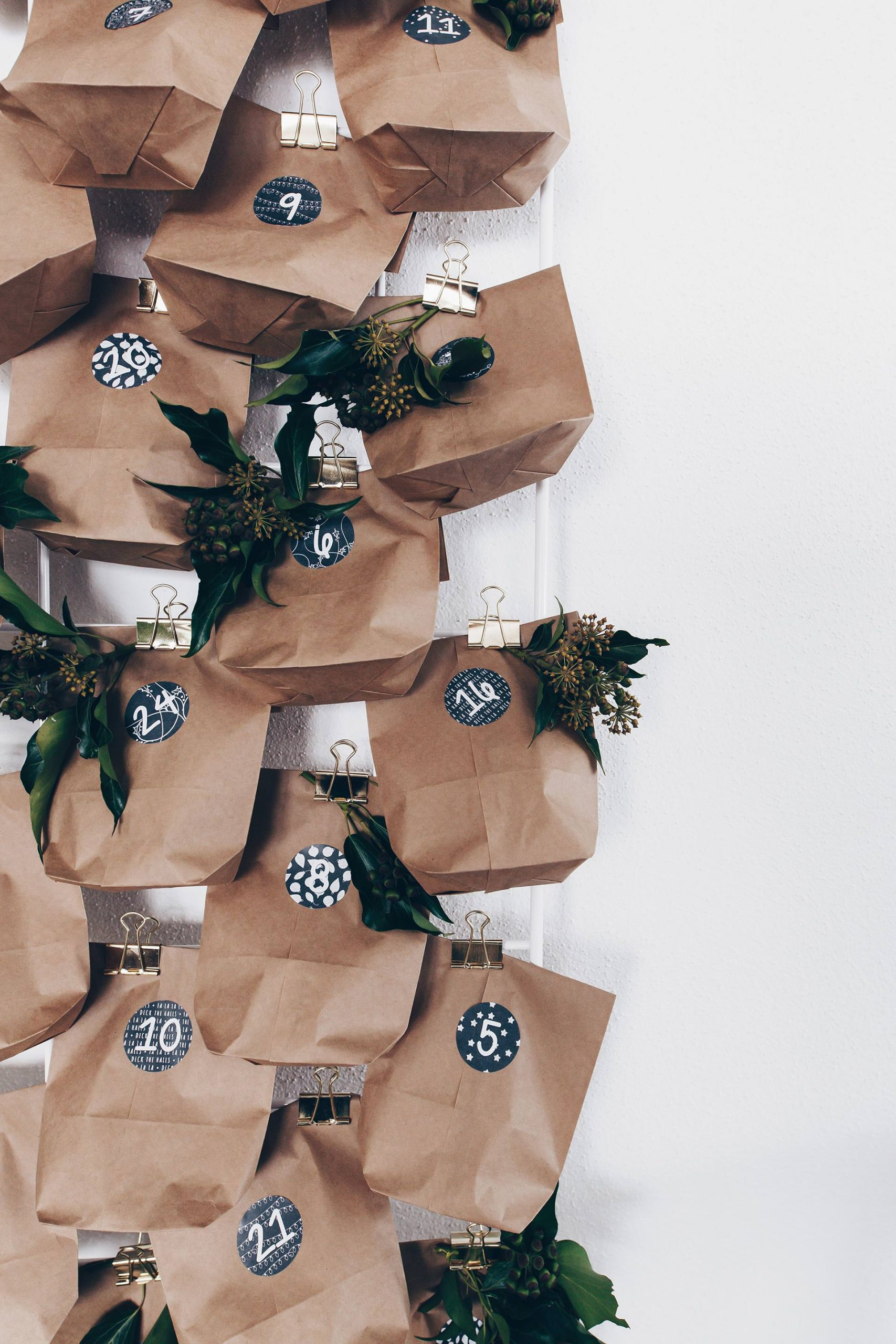 3 Einfache Und Günstige Diy Adventskalender Ideen Zum Selber über Einfacher Adventskalender Basteln