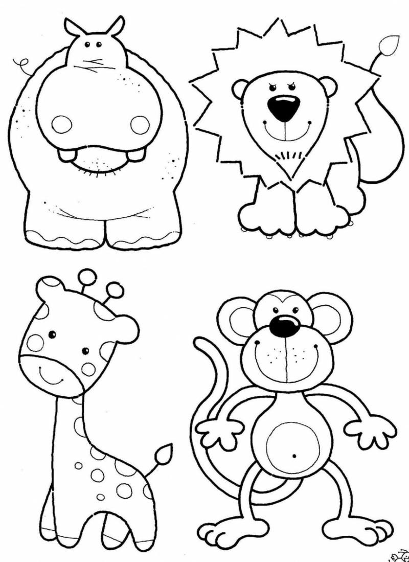 30 Kinder Malvorlagen Tiere Zum Ausdrucken Und Ausmalen innen Kindermalvorlage