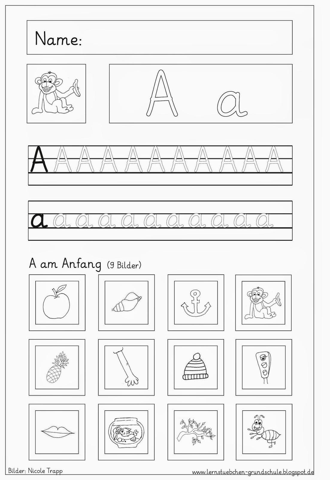 33 Inspirierend Lager Von Buchstaben Schreiben Lernen für Alphabet Lernen Vorschule