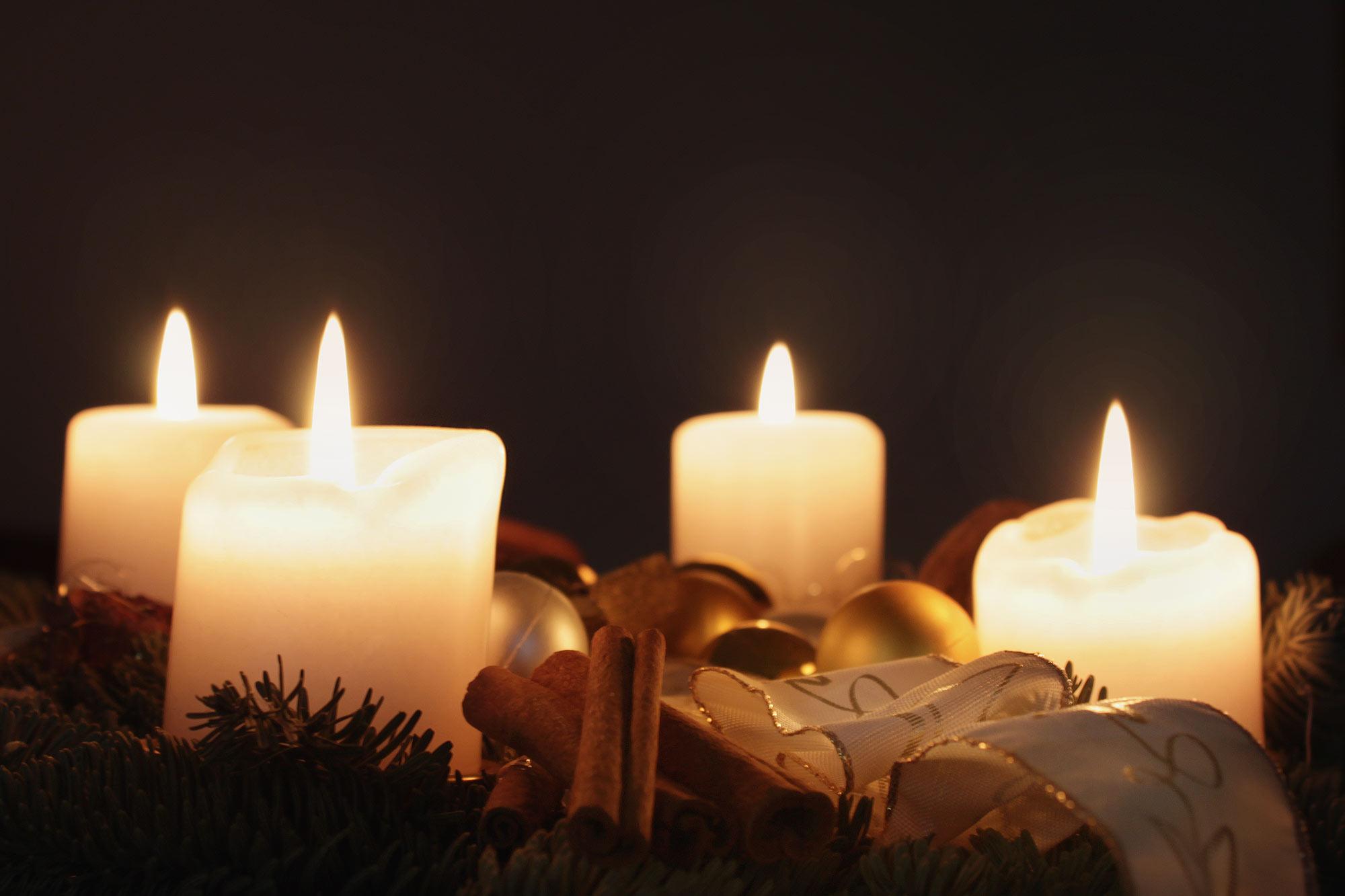 4. Advent - Kostenlose Bilder Download | Titania Foto für Adventsbilder Kostenlosen Download