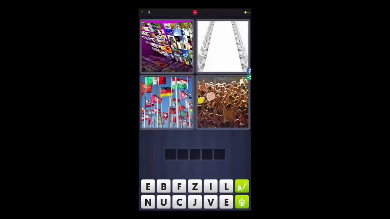 4 Bilder 1 Wort Lösung # 116 Bilder, Stühle, Flaggen in 4 Bilder 1 Wort Fahnen