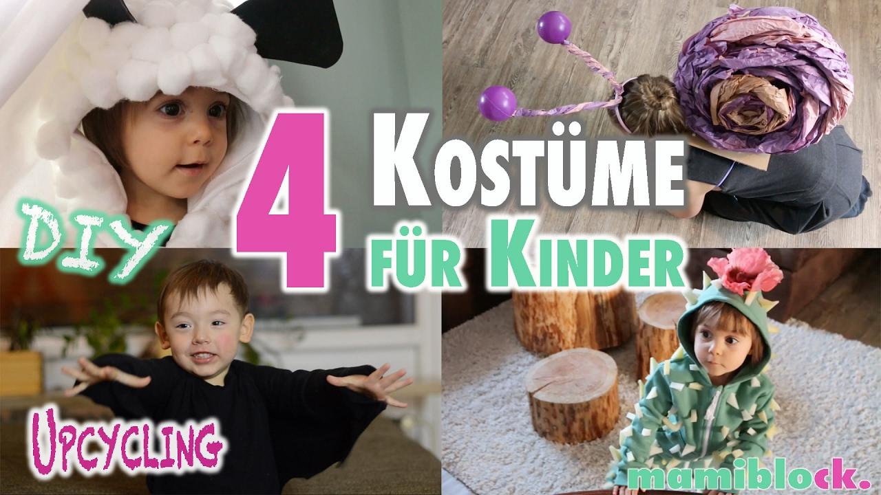 4 Kostüme Für Kinder Ohne Nähen | Diy | Upcycling | Mamiblock mit Faschingskostüme Für Kindergarten Selber Machen