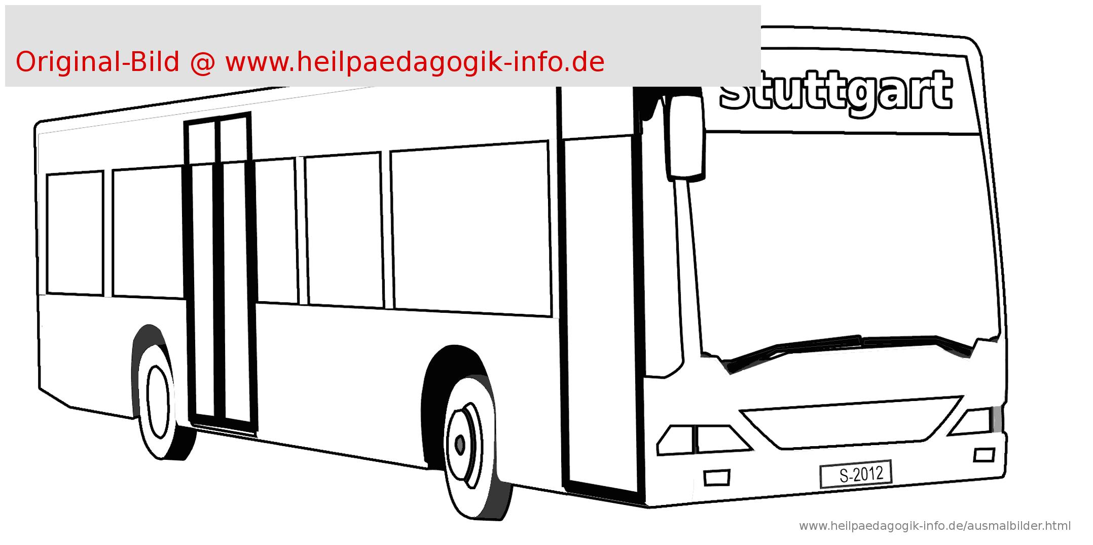 40 Bus Bilder Zum Ausmalen - Besten Bilder Von Ausmalbilder in Bastelvorlage Bus