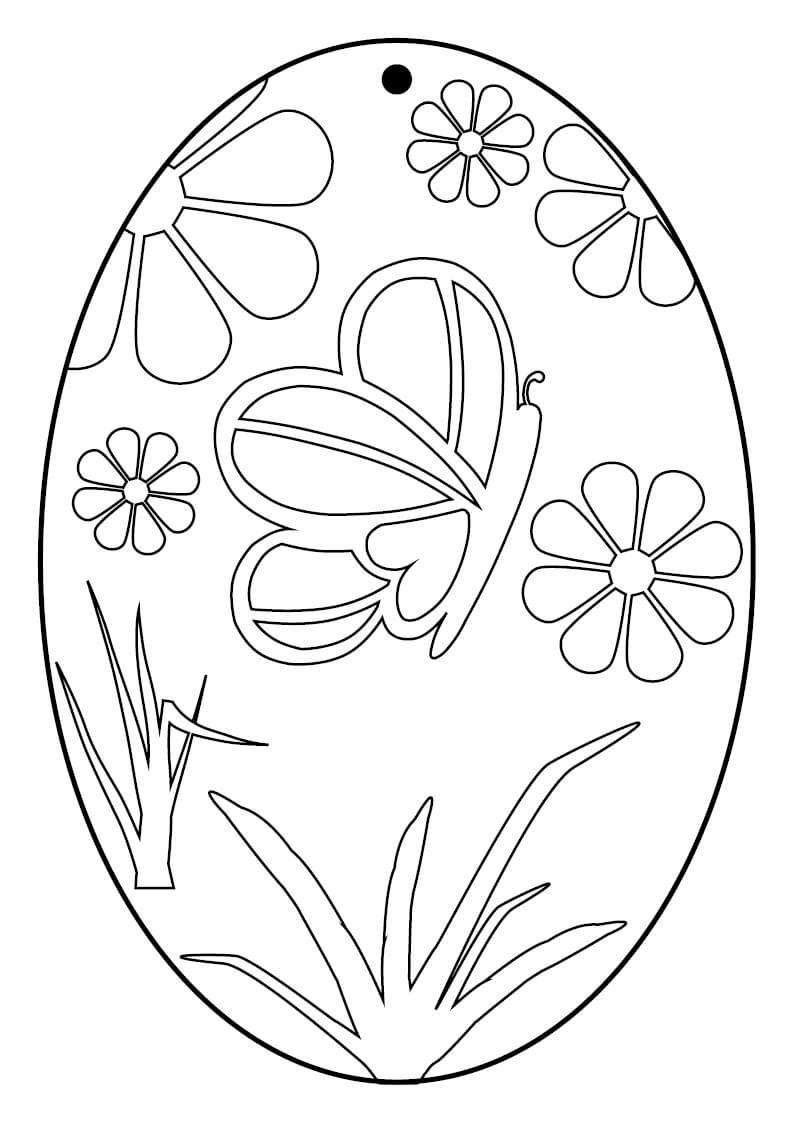 5 Bastelvorlagen Ostereier mit Bemalte Ostereier Vorlage