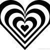 5 Beste Malvorlage Herz Groß Und Klein Zum Ausdrucken (Mit für Malvorlage Herz