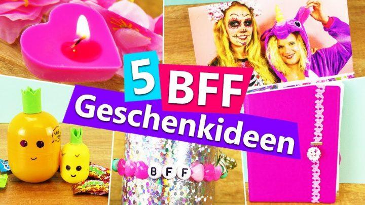 5 Diy Geschenkideen Für Die Beste Freundin | Bff Überraschen Mit  Kleinigkeiten | Einfach + Günstig über Coole Geschenke Für Beste Freundin