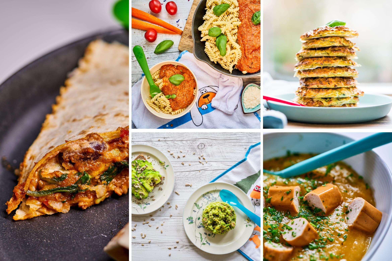 5 Einfache Kinderrezepte + Einkaufsliste Zum Ausdrucken verwandt mit Mittagsgerichte Schnell Und Einfach