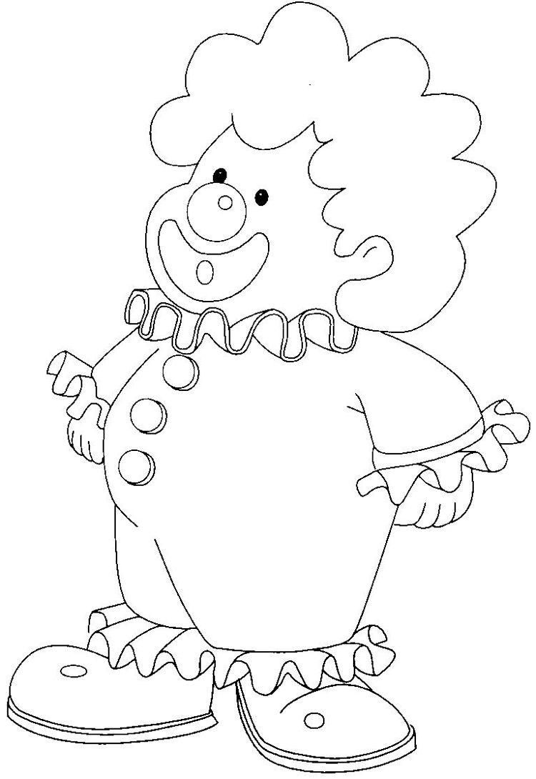 clown malvorlagen ausdrucken - kinderbilder.download