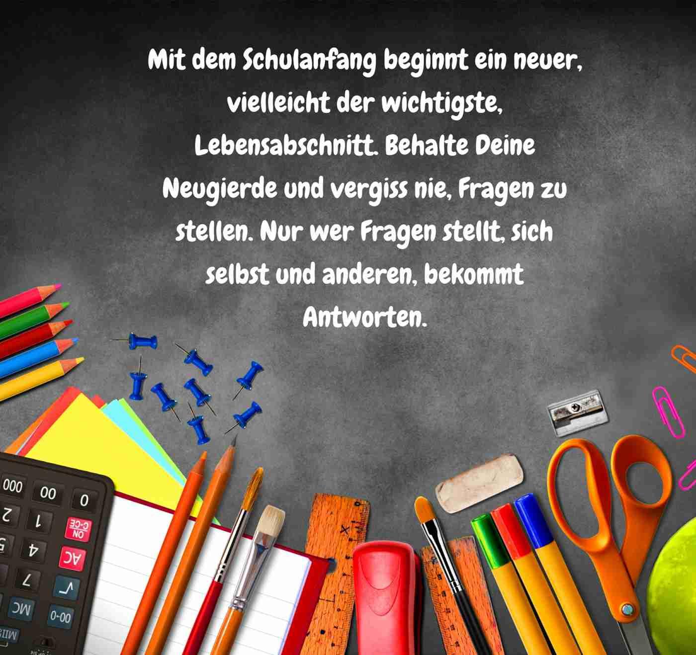 50 Glückwünsche Zur Einschulung Und Sprüche Zum Schulanfang für Wünsche Zur Einschulung Grundschule