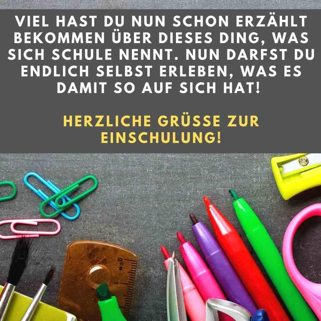 50 Glückwünsche Zur Einschulung Und Sprüche Zum Schulanfang in Lustige Sprüche Zur Einschulung Kostenlos