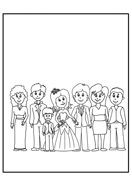 5Er-Set Mein Hochzeitsmalbuch (Je Zwölf Seiten) Inkl. 5 X in Malbuch Hochzeit