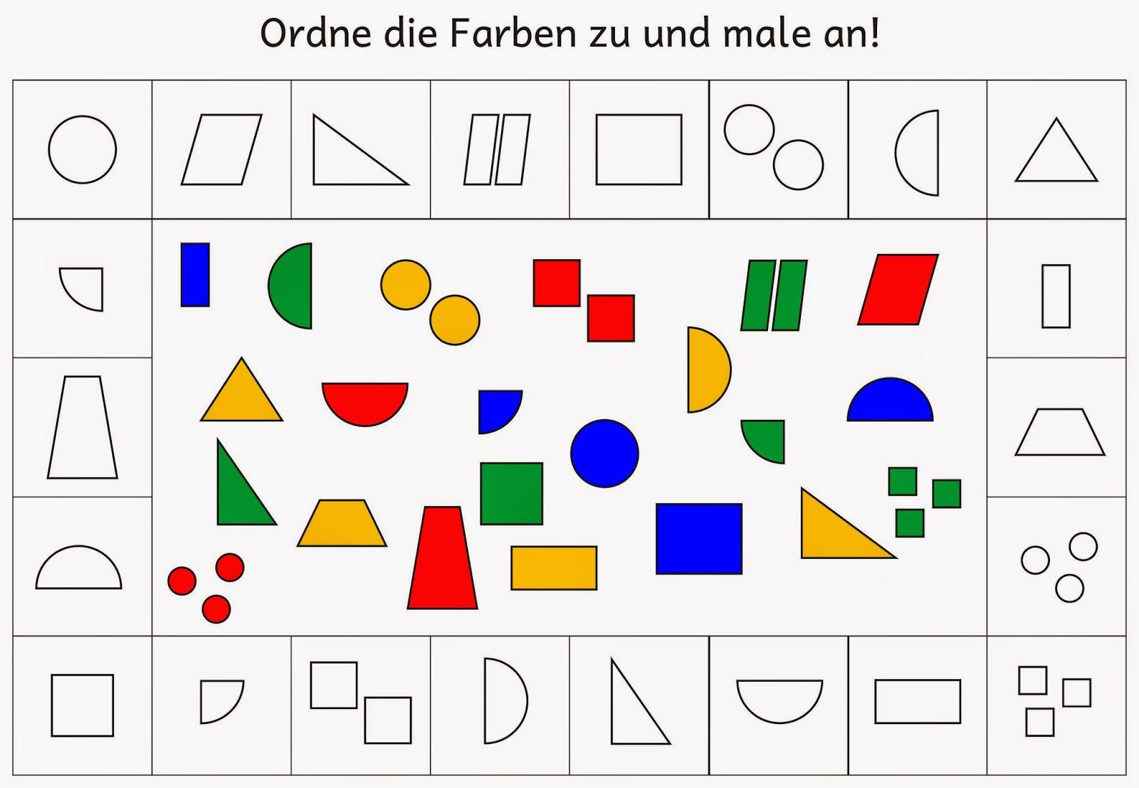 61 Geometrische Formen Arbeitsblatt Kindergarten ganzes Geometrische Formen Im Kindergarten