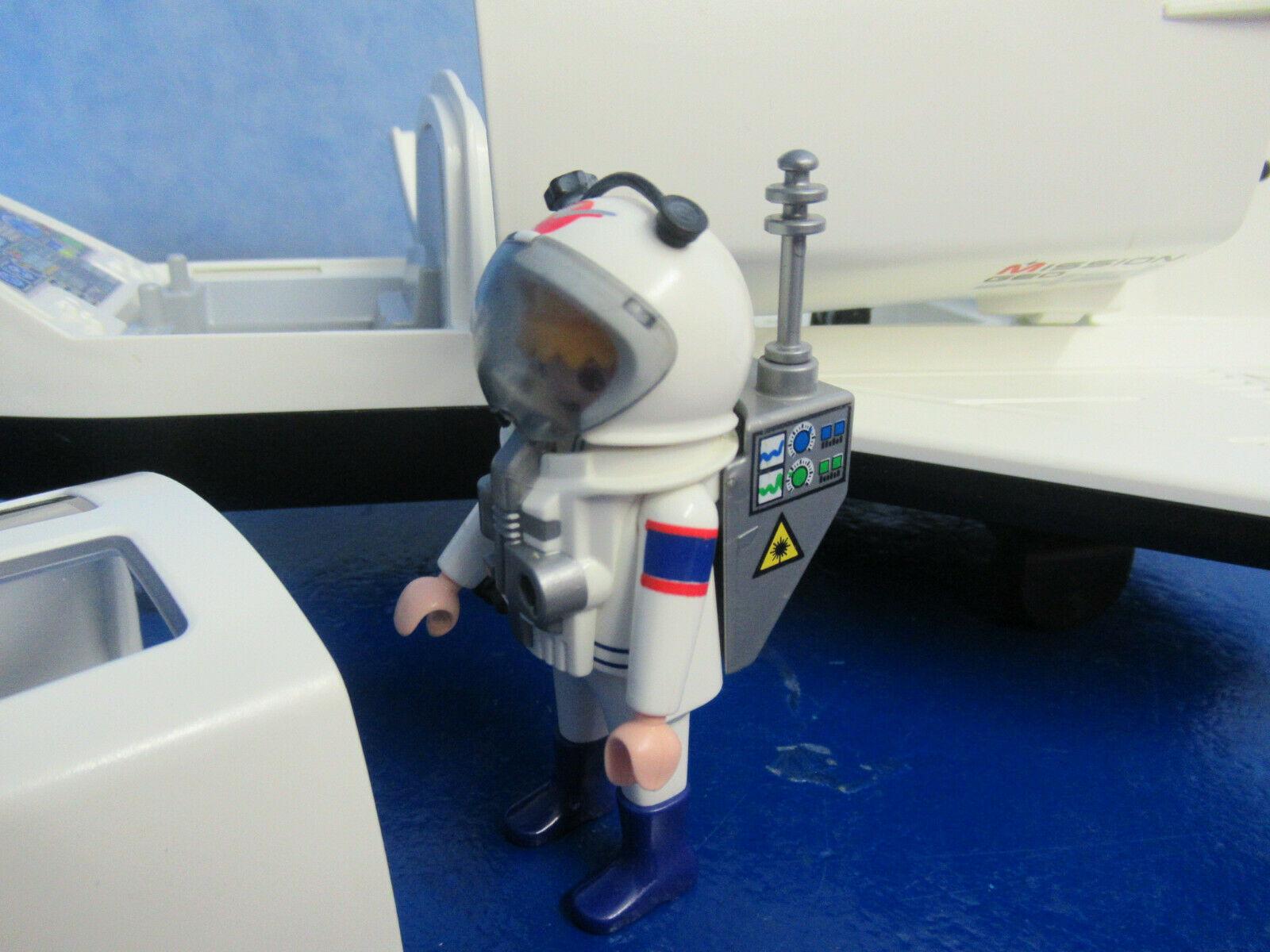 6196 Space Shuttle Figur Astronaut Zu 6195 Rakete Raumfahrt bei Playmobil Raumfahrt