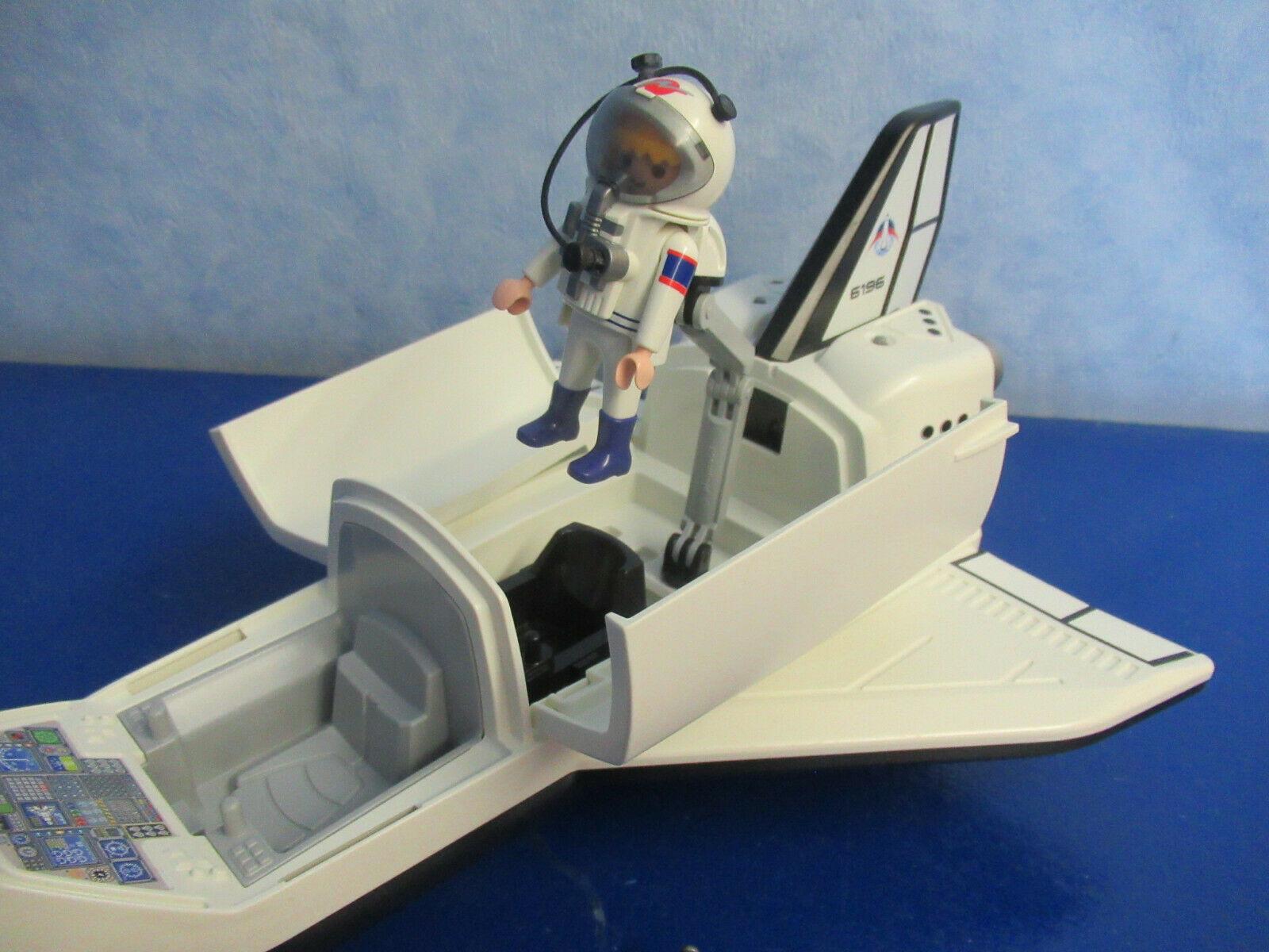 6196 Space Shuttle Figur Astronaut Zu 6195 Rakete Raumfahrt über Playmobil Raumfahrt