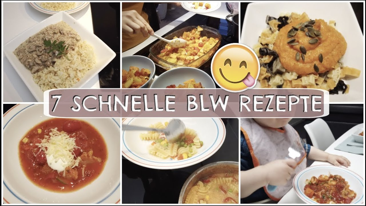 7 Einfache & Schnelle Blw Rezepte Für Die Ganze Familie L Hellocathi innen Rezepte Familie