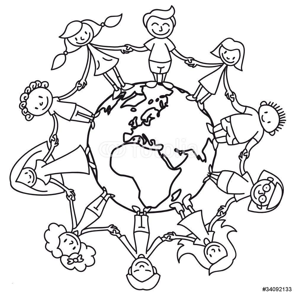 99 Einzigartig Ausmalbild Weltkugel Mit Kindern Galerie In für Kostenlose Malvorlagen Kinder