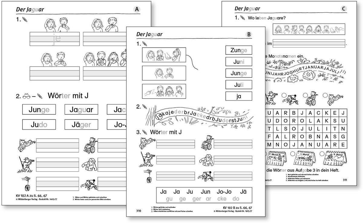 Abc Der Tiere: Arbeitsblätter Zur Individuellen Förderung verwandt mit Druckschrift Arbeitsblätter