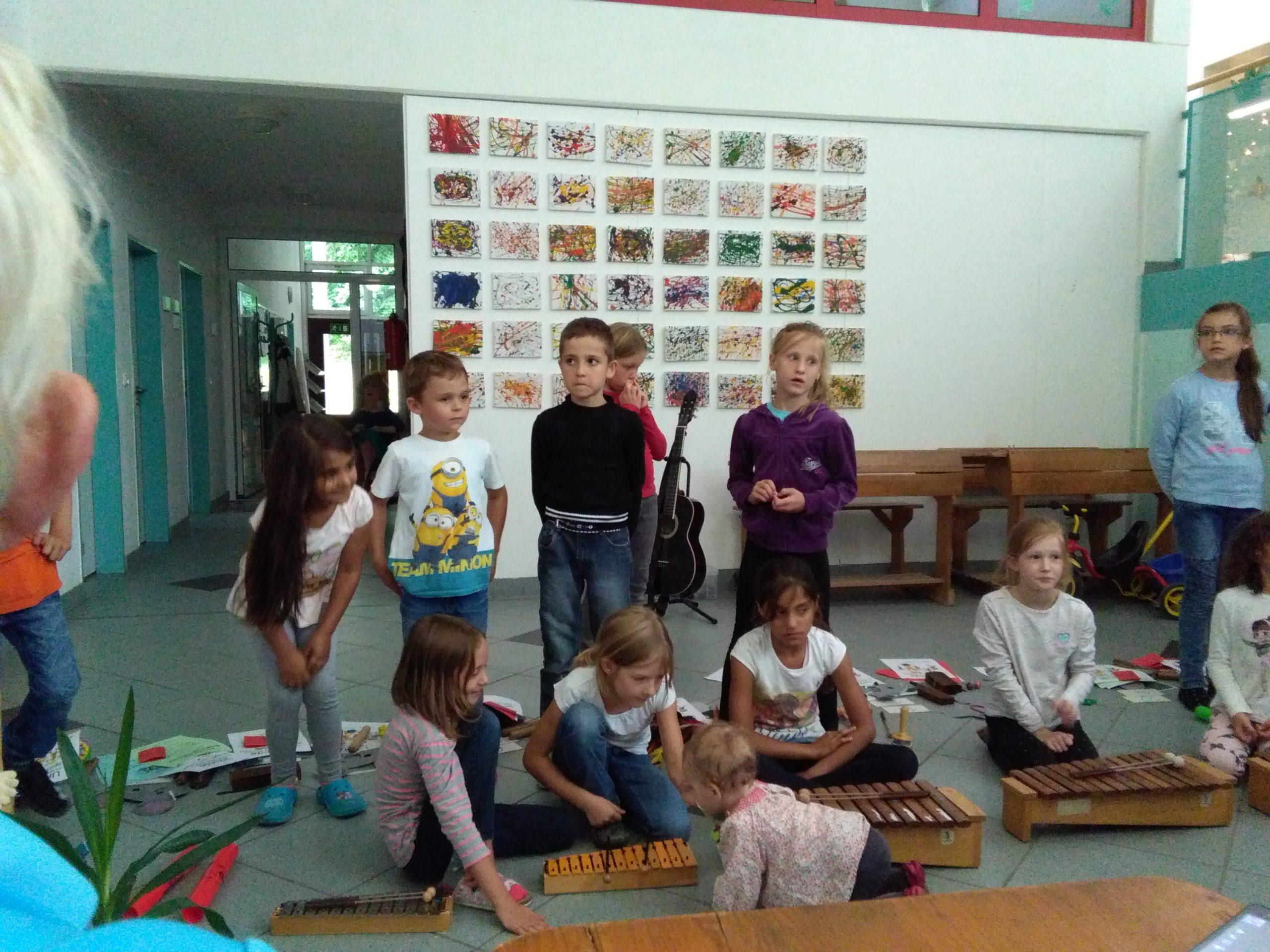 Abschlußfeier Der Klasse 1A Der Grundschule Mittelstetten für Abschlussfeier Grundschule