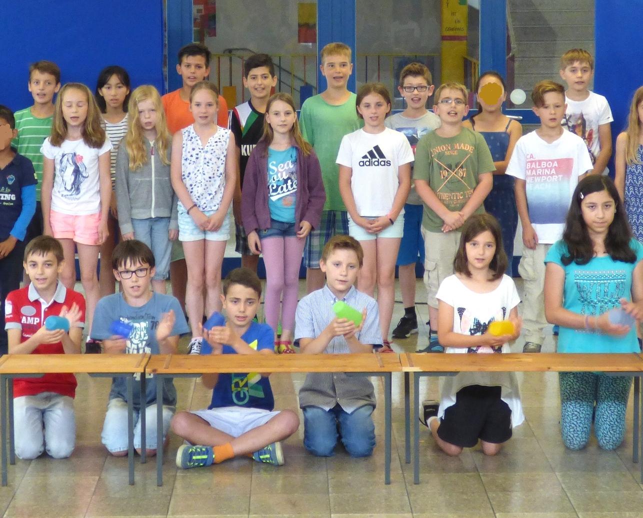Abschlussfeier 2016 – Max-Dauthendey-Grundschule mit Abschlussfeier Grundschule