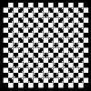 Acrylglasbild Optische Täuschung - Illusion - Schwarz Weiß 50 X 50 Cm |  Wallario.de innen Optische Täuschung Bild