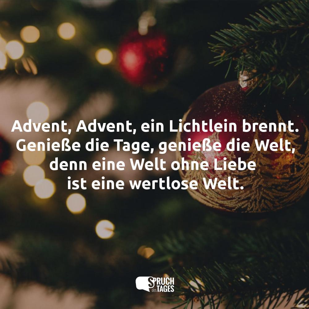 Advent, Advent, Ein Lichtlein Brennt. Genieße Die Tage mit Advent Advent Ein Türke Brennt