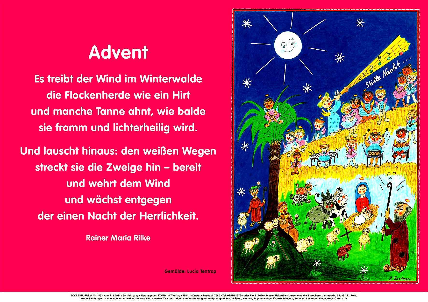 Adventsgedicht | Christliches Forum innen Adventsgedicht Für Kindergartenkinder